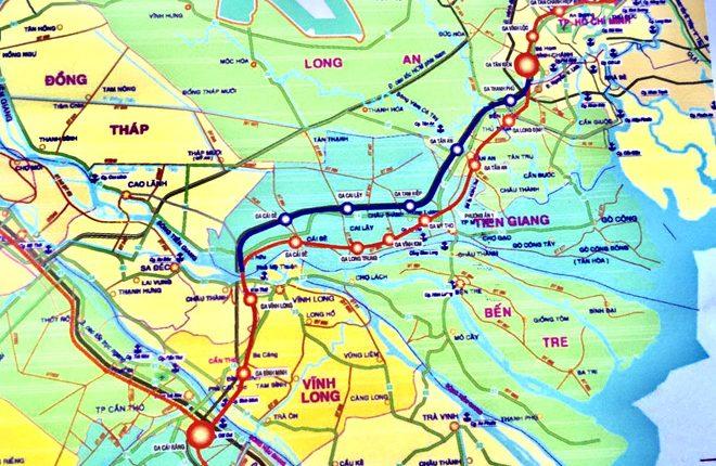 10 tỷ USD xây tuyến đường sắt cao tốc TP HCM – Cần Thơ