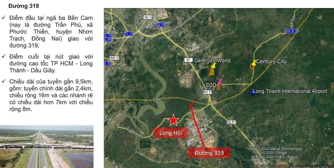 Các tiện ích trọng yếu quanh Dự án Long Hội Central Point Nhơn Trạch Đồng Nai