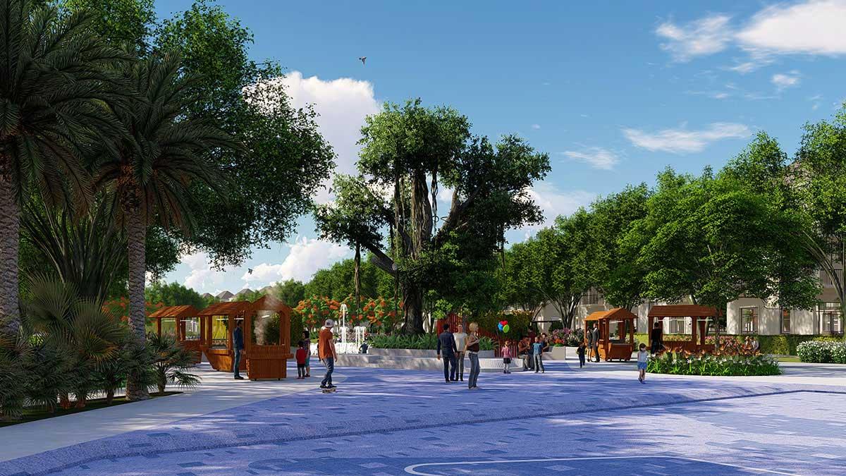 Khu công viên Dự án La Vida Residences Vũng Tàu