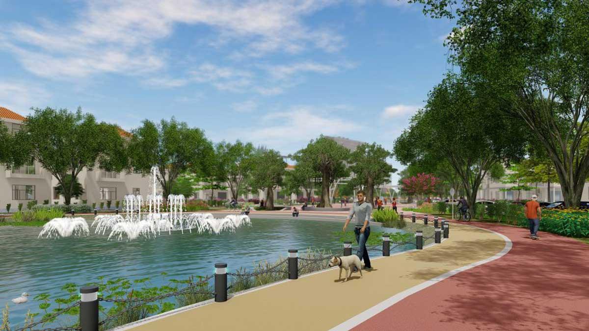 Đường dạo bộ Dự án La Vida Residences Vũng Tàu