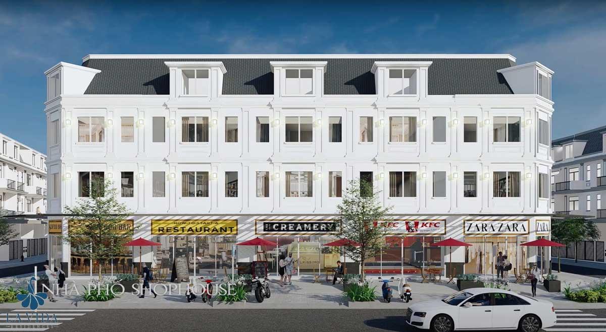 Nhà phố Thương mại Shophouse La Vida Residences