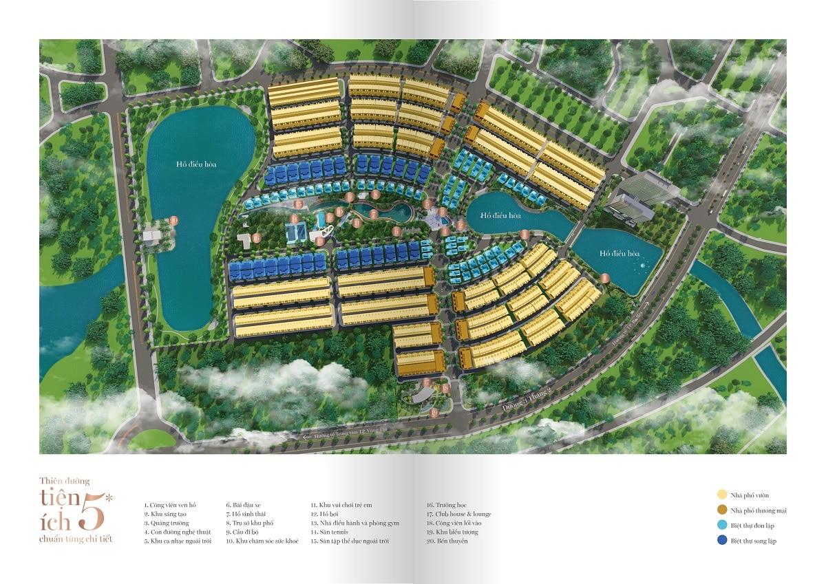 Hệ thống Tiện ích nội khu Dự án La Vida Residences Vũng Tàu