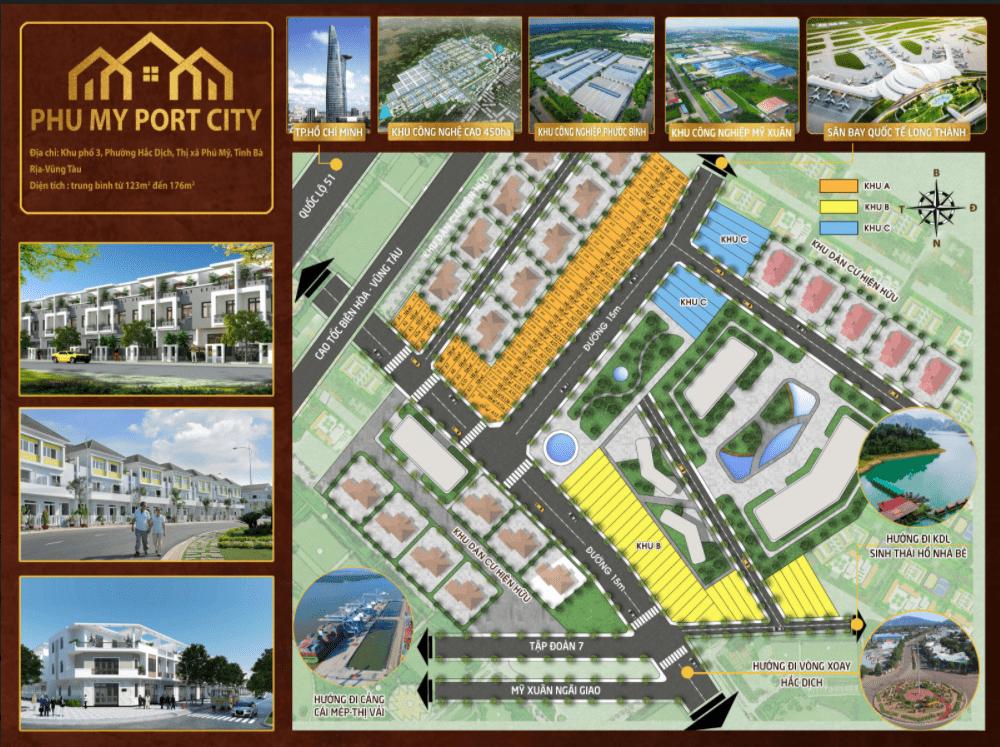 Phú Mỹ Port City Bà Rịa Vũng Tàu